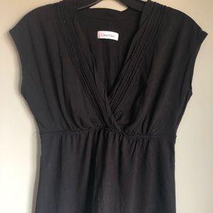 Calvin Klein sleeveless black top